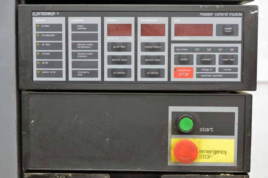 1987 Atlas Copco Ga 345 100 Air Compressor Boggs Equipment