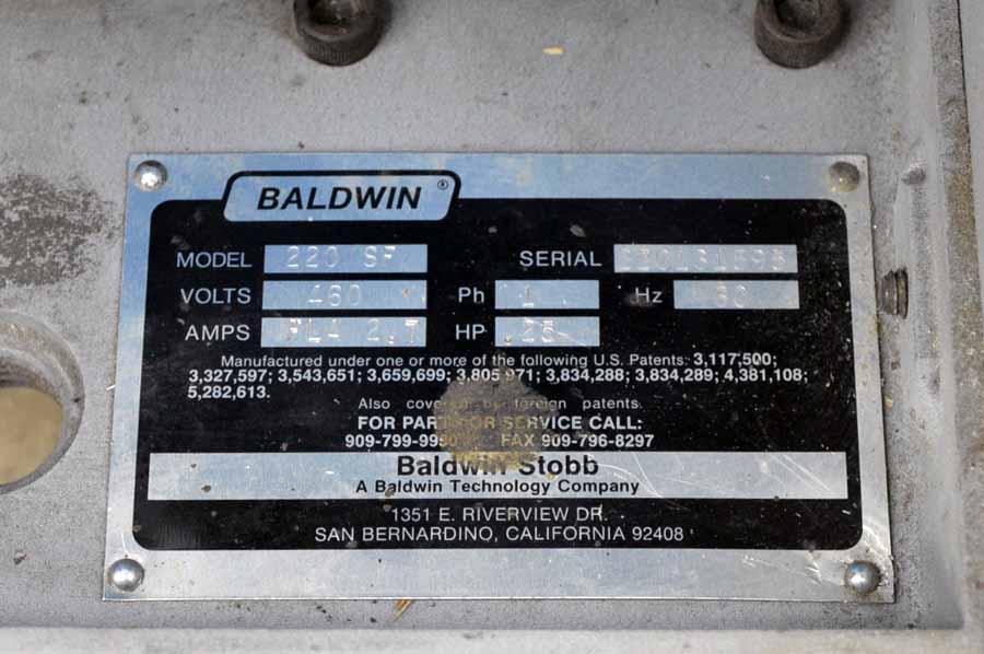 Baldwin Stobb Model 220SF Feeder