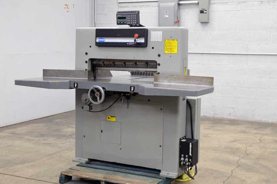 Challenge 305 MC Hydraulic Paper Cutter with Paper Cut Jr