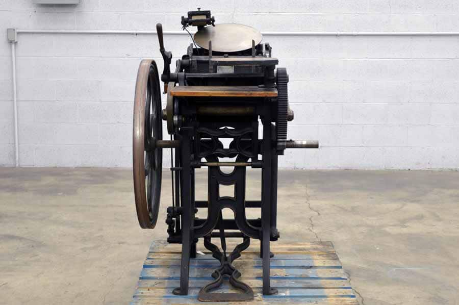 Challenge G.P. Gordon Platen Press