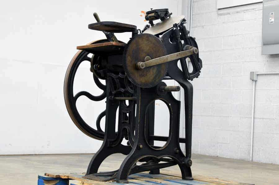 Challenge G.P. Gordon Platen Press