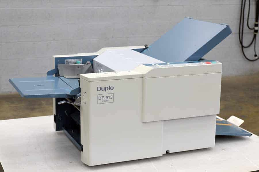 Duplo DF-915 Paper Folding Machine
