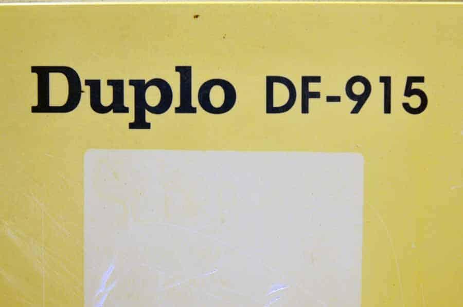 duplo df 920 folder manual