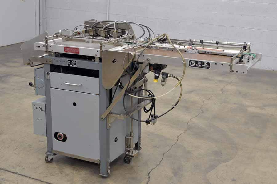 E-Z Machine ILRE89 Mylar Inline Punch