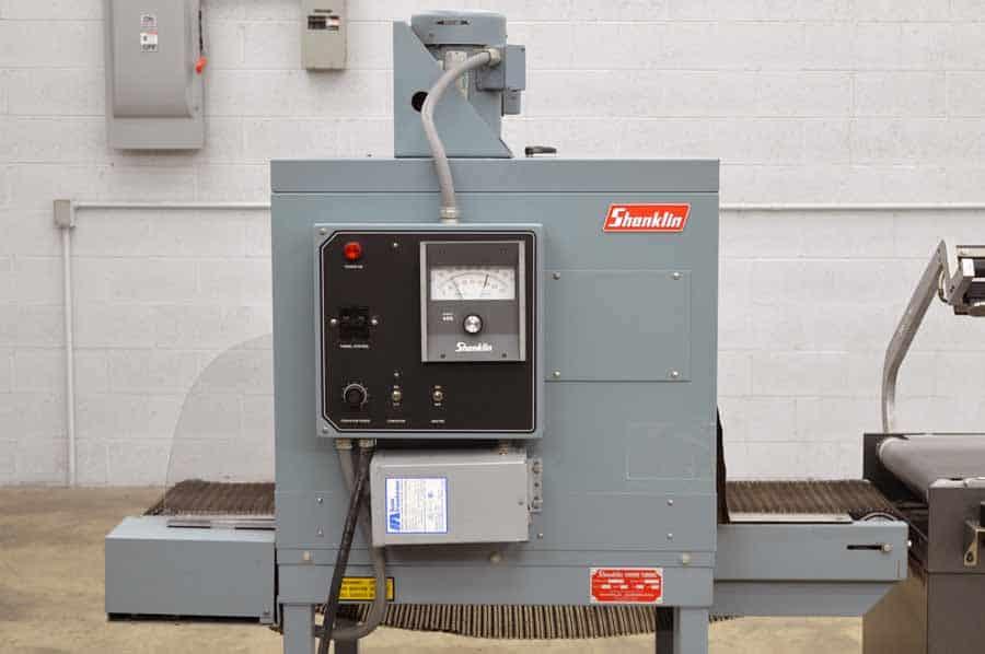 Eastey L-Bar Heat Sealer with Shanklin Shrink Tunnel - Shrink Wrap System