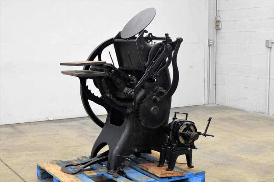 Golding Jobber Printing Press