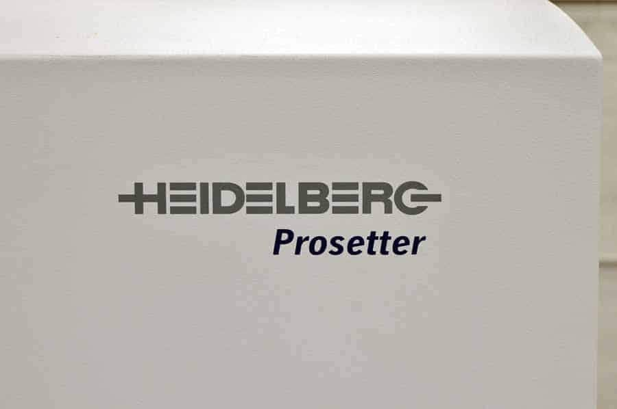 2002 Heidelberg Prosetter 74 Computer to Plate System