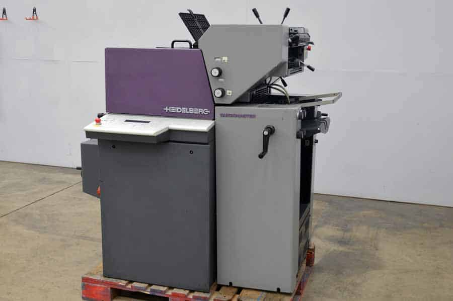 Heidelberg Quickmaster QM 46-2 Two Color Printing Press