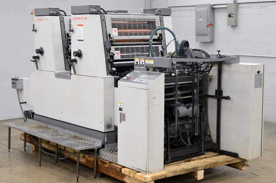 Komori Sprint S 228P Two Color Offset Press