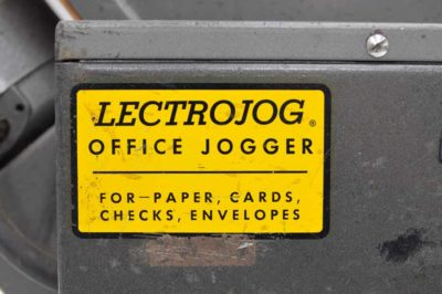 LECTROJOG 775 Table Top Paper Jogger