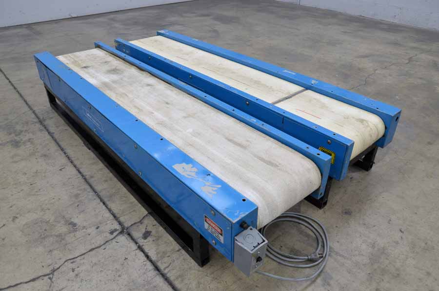 Two LaRos Parts Conveyors
