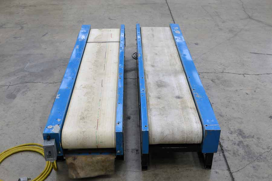 Two Laros Parts Conveyors Boggs Equipment