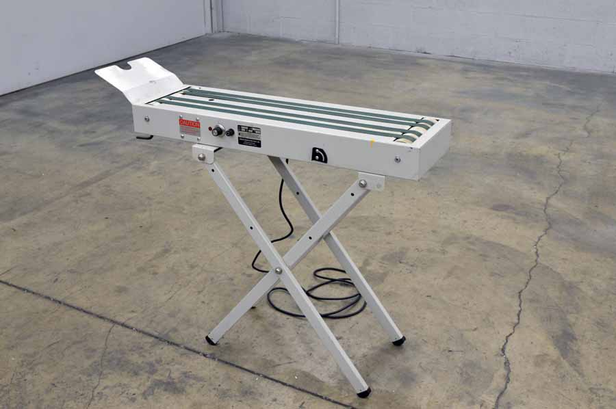 Press Specialty Model D-100 Receiving Conveyor