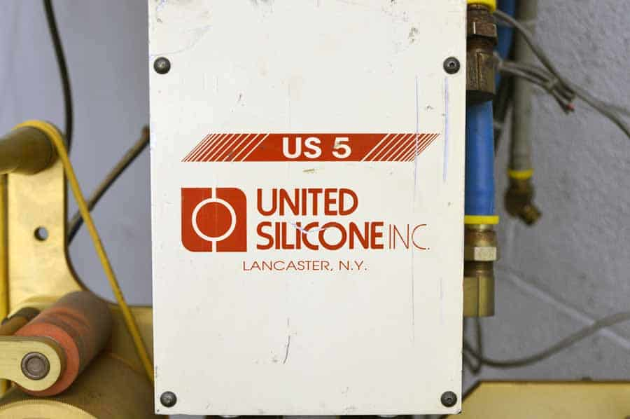 United Silicone US 5 Hot Stamping Machine