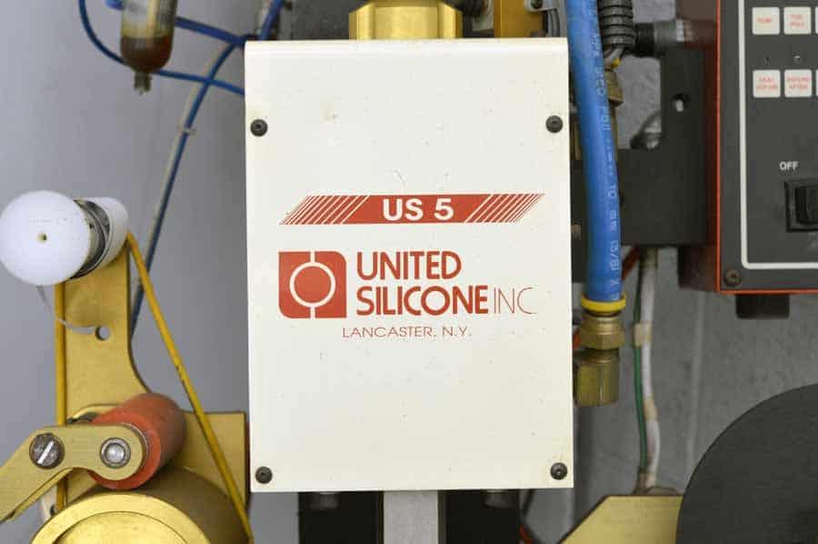 United Silicone US 5 Hot Stamping Machine
