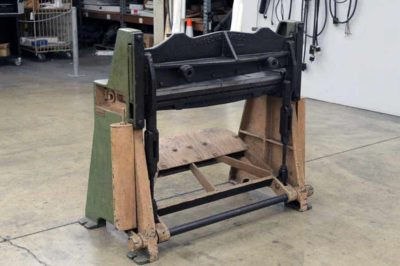 Wysong and Miles Paper Cutter