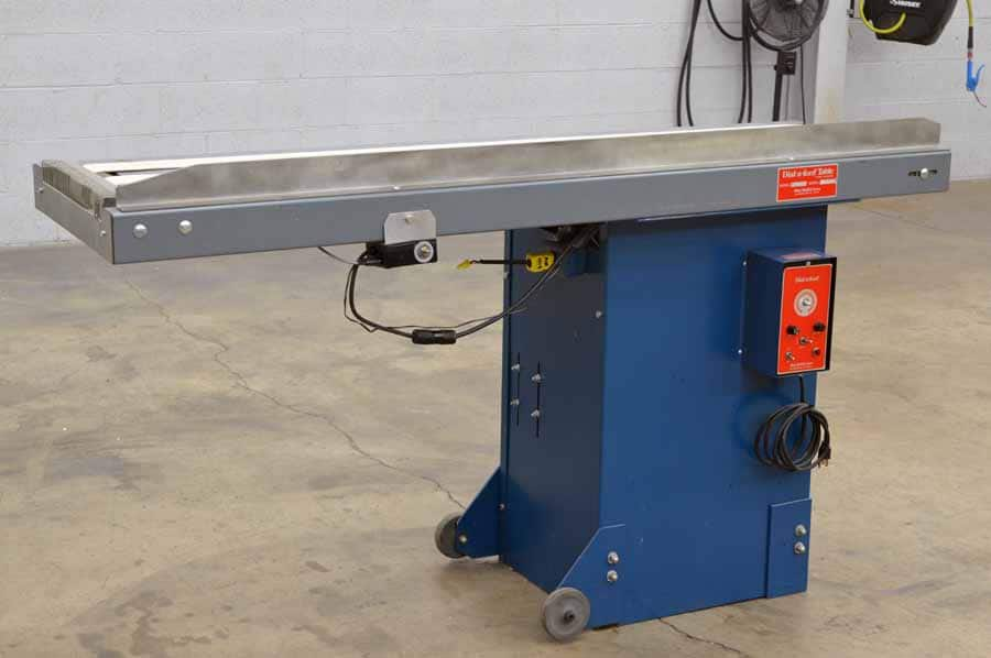 Dick Moll Dial-A-Feed Table Conveyor