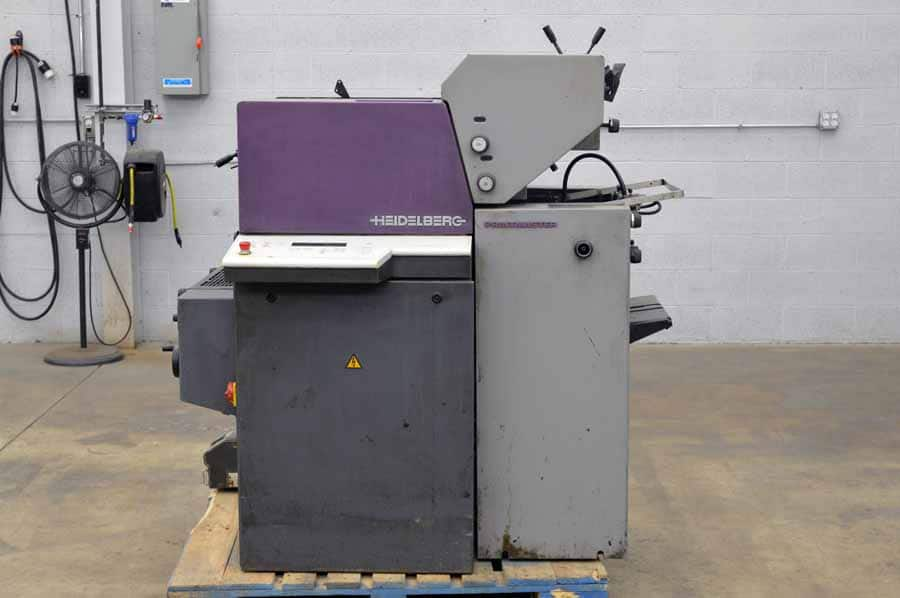 1999 Heidelberg Printmaster Two Color Printing Press