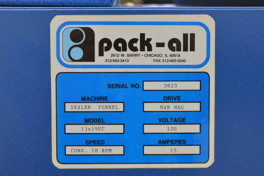 """Pack-All 13x19"""" UC Shrink Wrap System"""