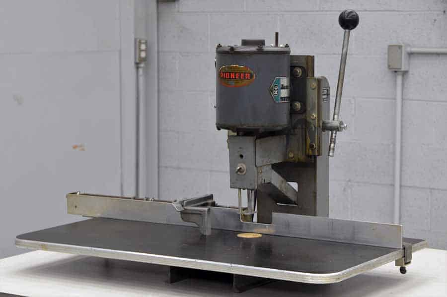 Pioneer Single Head Table Top Paper Drill