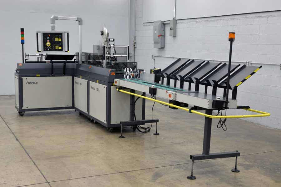 Profold 321 USPSTAB High Speed Tabbing Machine