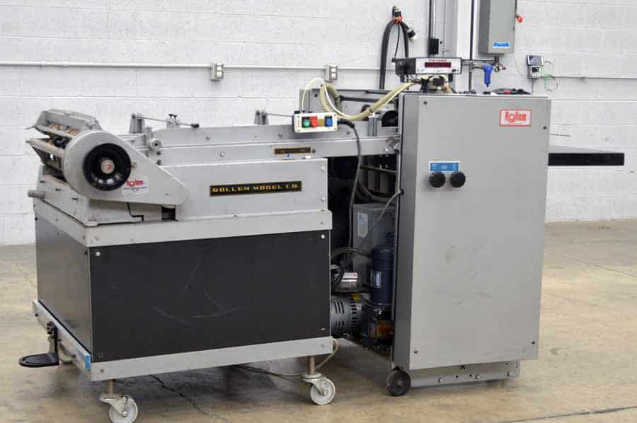 Rollem Model TR Scoring and Perforating Machine
