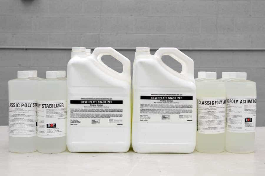 Silver Plate Stabilizer Chemicals