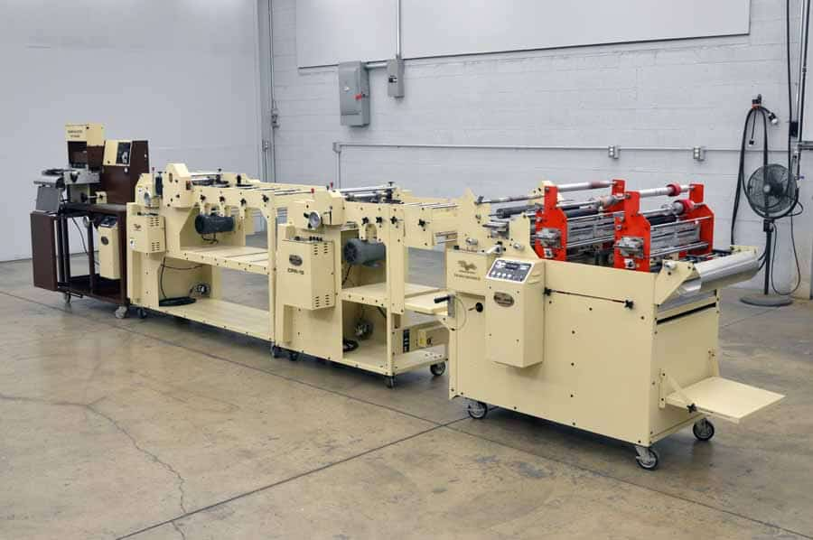 Therm-O-Type CF 2000 Label Machine with CPR-15 and Tri-Max Encoder II