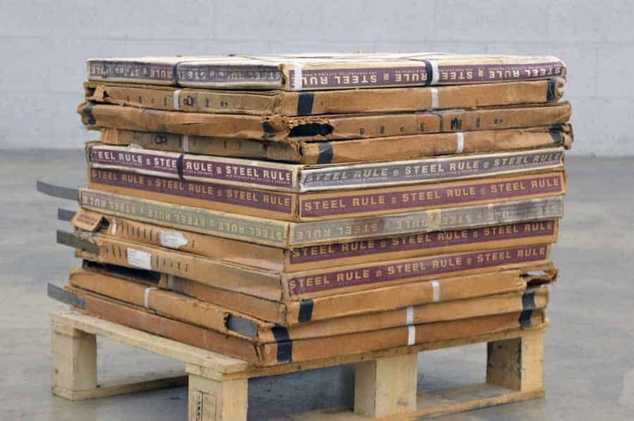 Zimmer Steel Rule for Perforating Cutting and Creasing - 205 lbs
