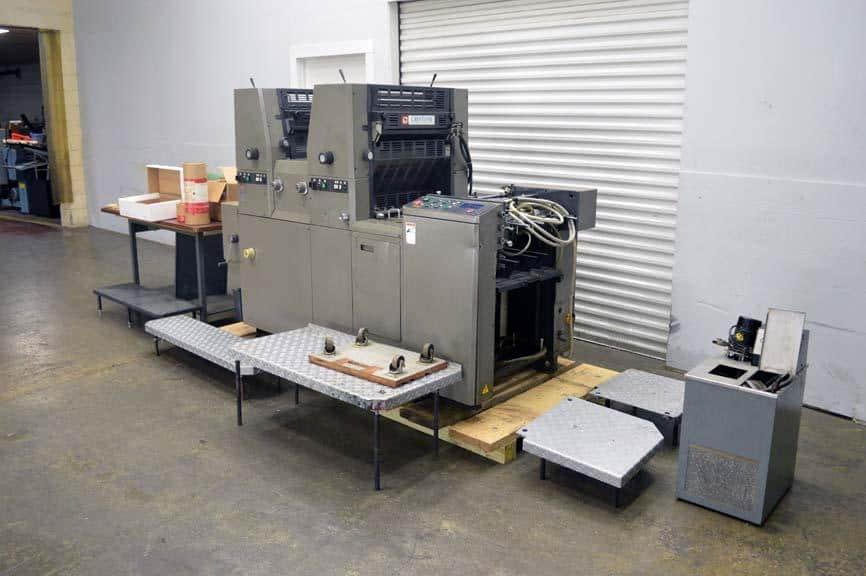 Ryobi 512 Two Color Offset Printing Press (AB Dick 6020 Model)