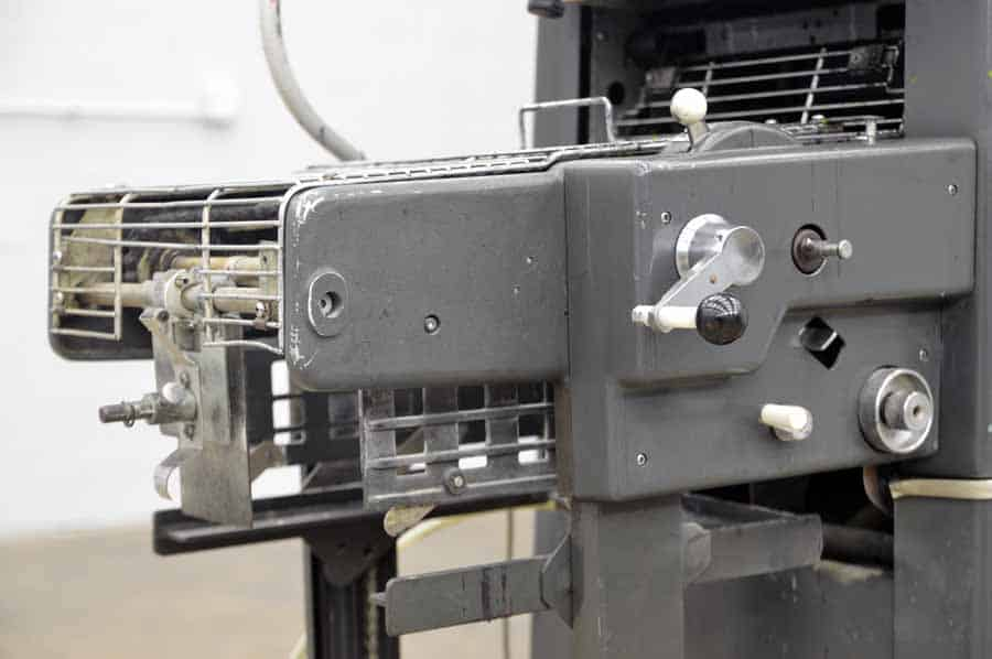 Printing equipment ab dick model 360 chain delivery