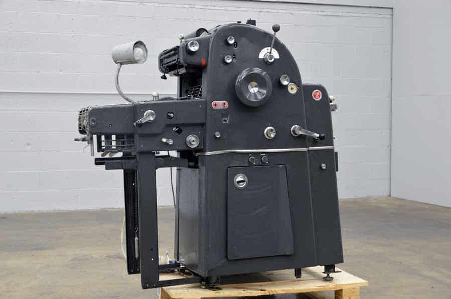 Ab Dick 360 Cd Printing Press Boggs Equipment
