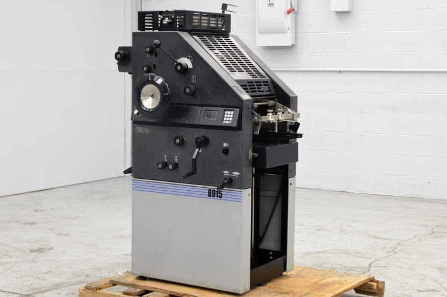 AB Dick 8915 Single Color Printing Press