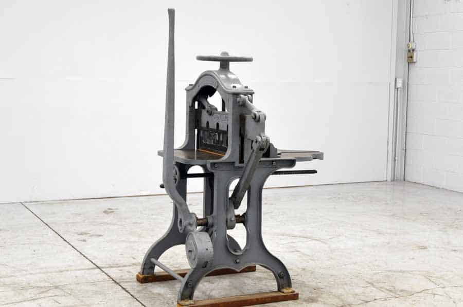 Advance Antique Paper Cutter