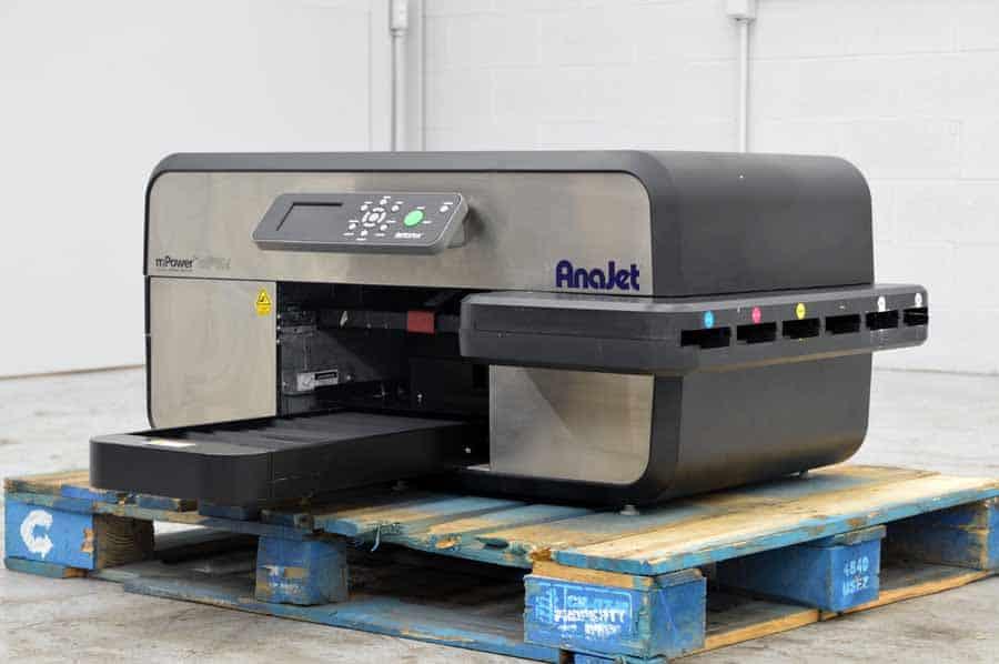 Anajet mPower mP10i Digital Apparel Printer