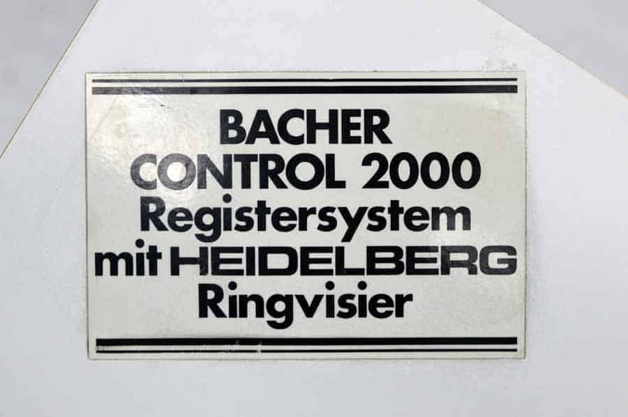 Bacher Control 2000 Register System