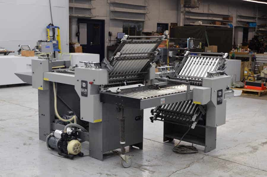 Baum 2020 Pile Feed Paper Folder with Right Angle