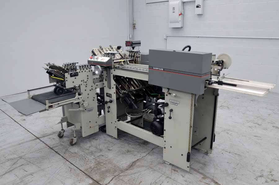 Baumfolder F14A Futura Paper Folder with Right Angle