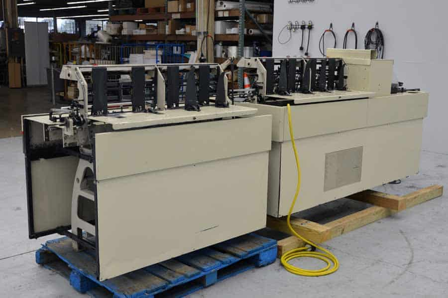 Bell and Howell A496 Inserter with Conveyor