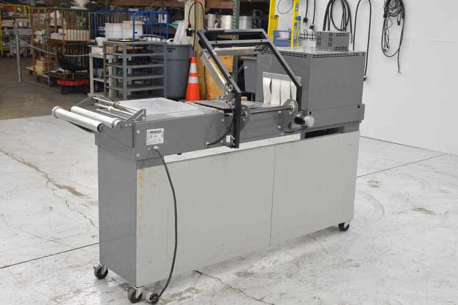 Beseler L-Bar Sealer with Heat Tunnel Shrink Wrap System