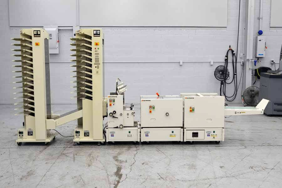 CP Bourg Two Tower Booklet Making System