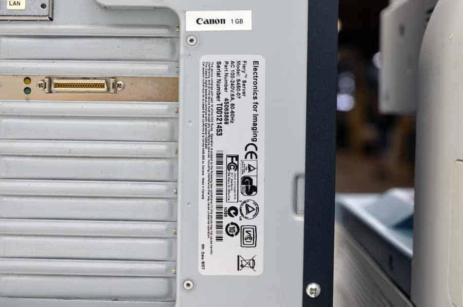 Canon ImageRUNNER C4080 Color Copier