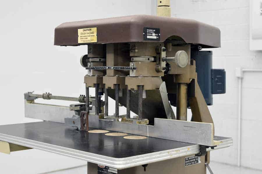 Challenge EH-3A Three Head Paper Drill