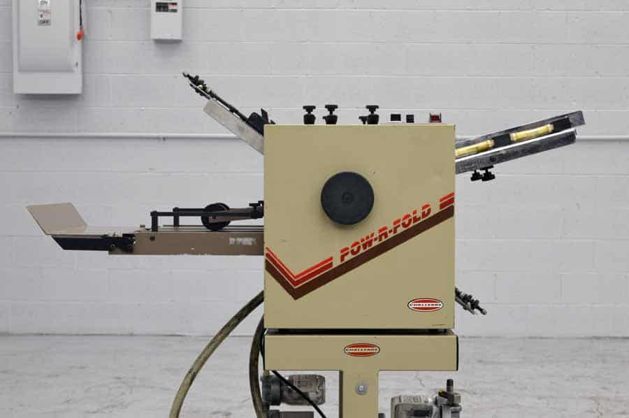 "Challenge Pow-R-Fold Air Feed Paper Folder - 14"" x 20"""