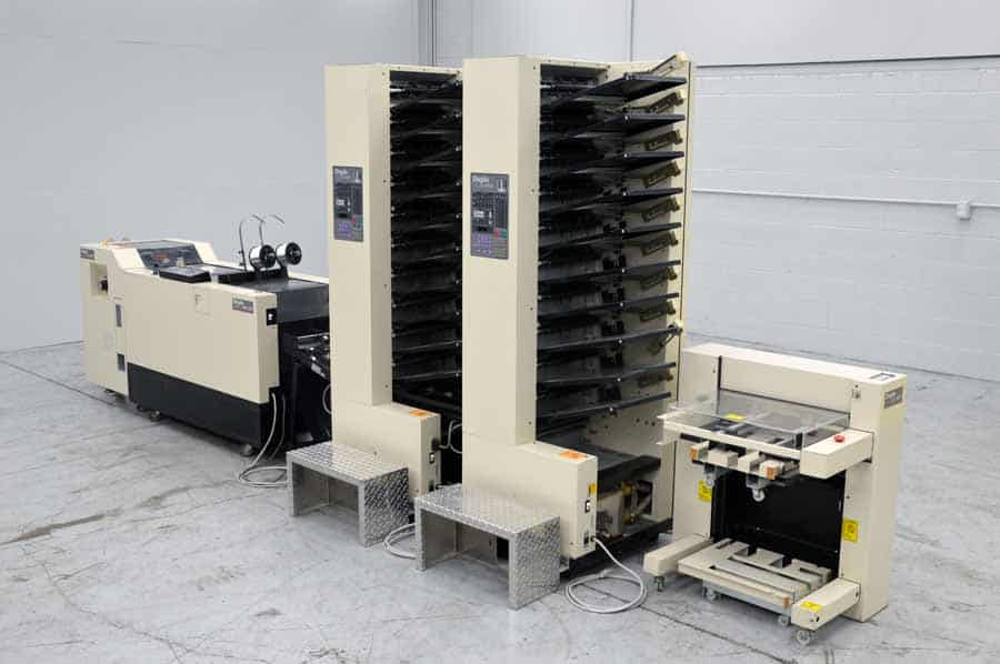 Duplo DBM-200 Booklet Making System with Trimmer and Collator