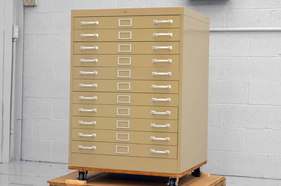 Flat Filing Cabinet