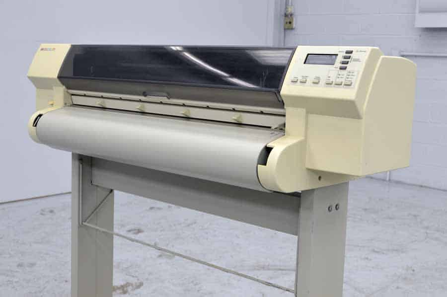 Hp Designjet 750c Plus Wide Format Printer Boggs Equipment