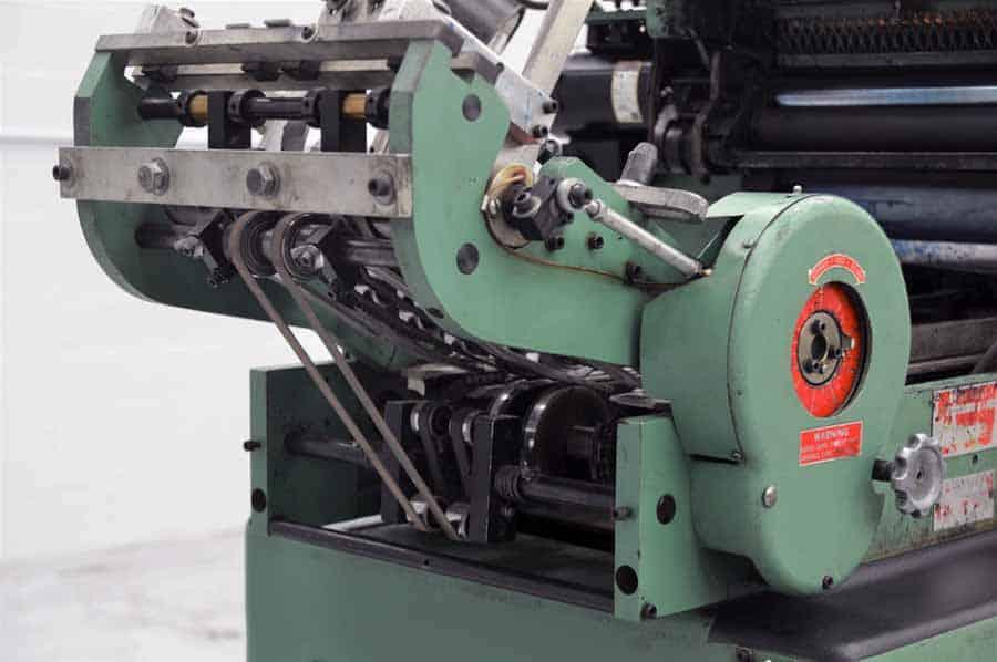 Halm JP-WOD-P Jet Press Envelope Press with Delivery Conveyor