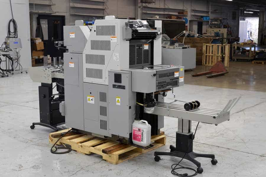 Hamada VS34LSII Two Color Offset Press