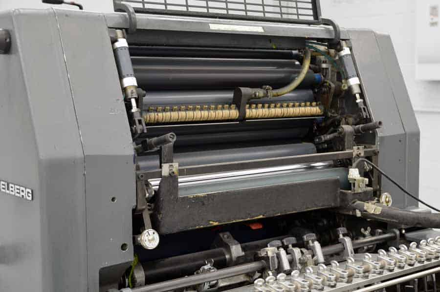 Heidelberg GTOZ 52 Two Color Offset Press